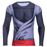 Goku Black Long Sleeve Compression Shirt