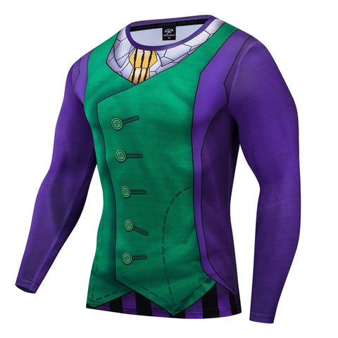 The Joker Arthur Fleck Classic Long Sleeve Compression Shirt