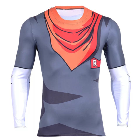 Android 17 Long Sleeve Compression Shirt