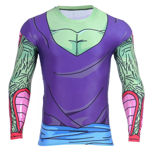 Piccolo Long Sleeve Compression Shirt