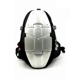 Aluminum Armor Spine Protection Biker Backpack