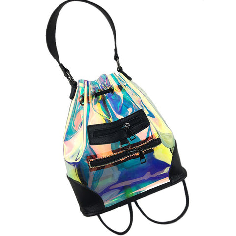 Personalized Translucent Psychedelic Backpack