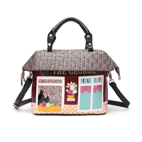 Cute Exquisite English Country House Handbag
