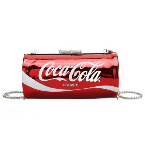 Funny Coca Cola Diet Coke Clutch Handbag