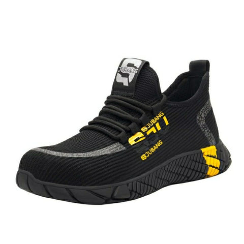 Yellow Street Style Safety Shoe