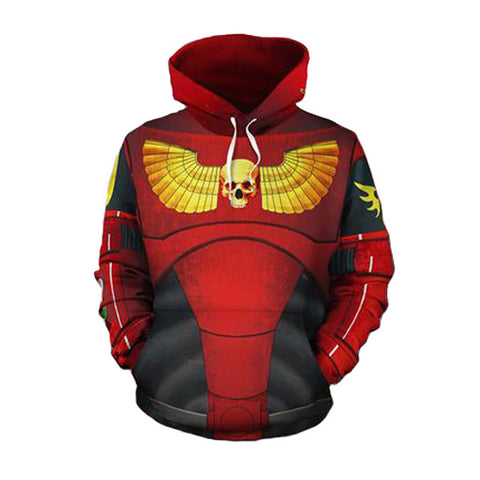 Red Star Trooper Pullover Hoodie