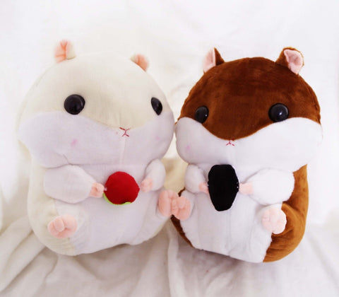 Plush Hamster Animal Backpack