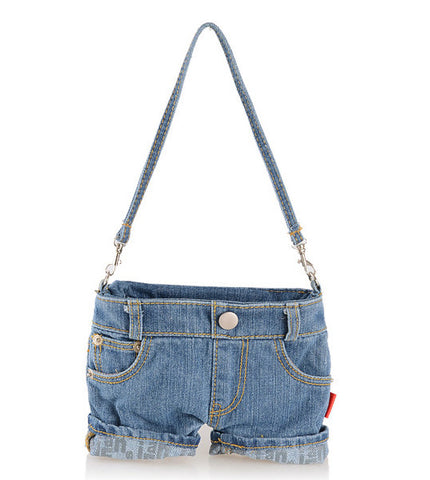 Funny Denim Mini Jeans Handbag
