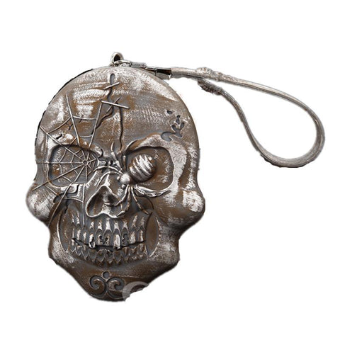 Gothic Vintage Skull Silicone Coin Purse