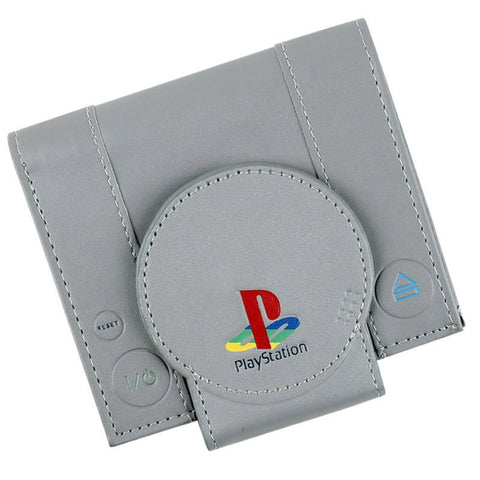 Funny PlayStation Classic Gaming Console Wallet