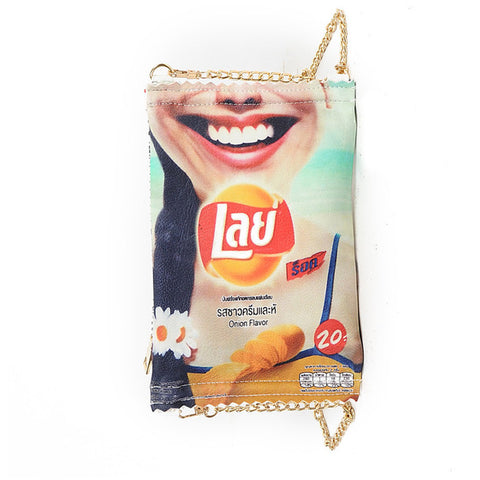 Funny Lays Potato Chips Handbag