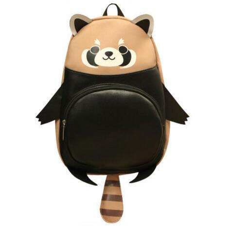Japanese Red Panda Animal Backpack