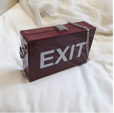 Funny Exit Sign Handbag