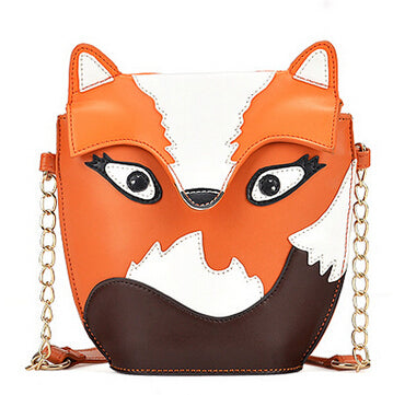 Vintage Fox Animal Handbag