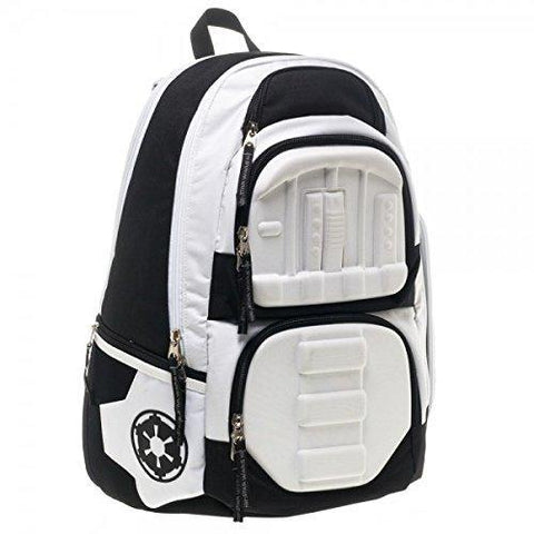 3D Molded Stormtrooper Star Wars Sci-Fi Cosplay Backpack