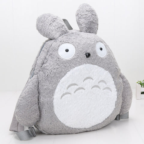 Cute My Neighbor Totoro Soft Plush Toy Backpack