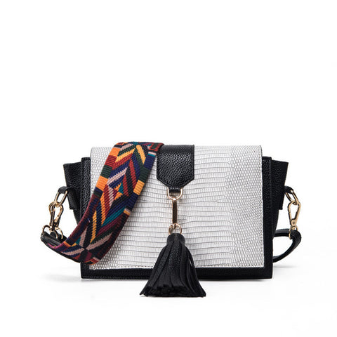 Luxury Designer Tassels Leather Handbag