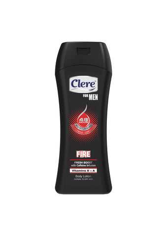 Clere For Men Body Lotion - FIRE - 200ml 24-Pack