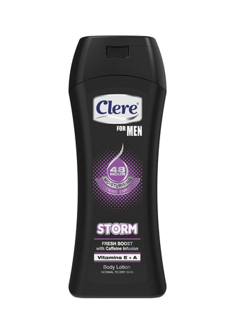 Clere For Men Body Lotion - STORM - 400ml 36-Pack