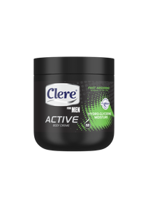 Clere For Men Active Body Crème - Hydro Glycerine - 450ml 24-Pack