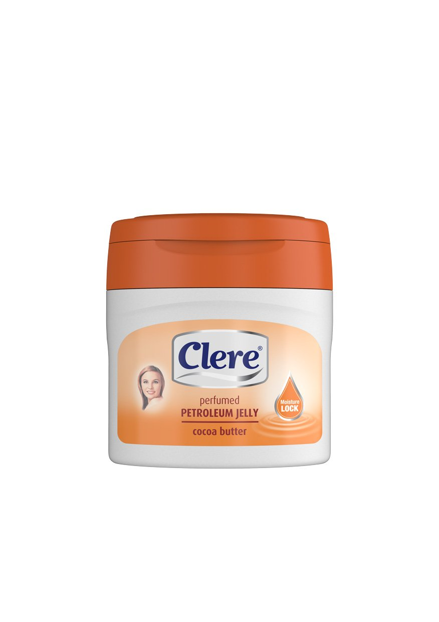 Clere Petroleum Jelly - Cocoa Butter - 250ml