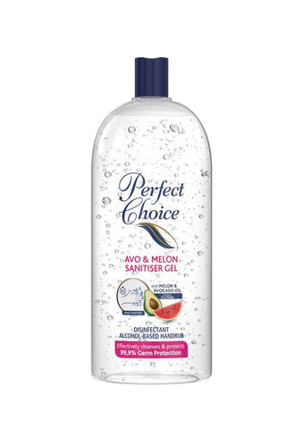 Perfect Choice Avo & Melon Hand Sanitiser Gel- 1litre