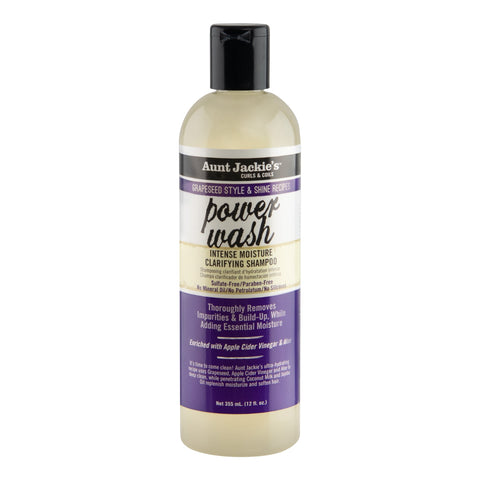 Aunt Jackie's Grapeseed Style & Shine Recipes Power Wash - 355ml 6-Pack