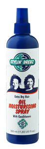Stylin' Dredz Oil Moist Spray - Extra Dry 350ml 12-Pack
