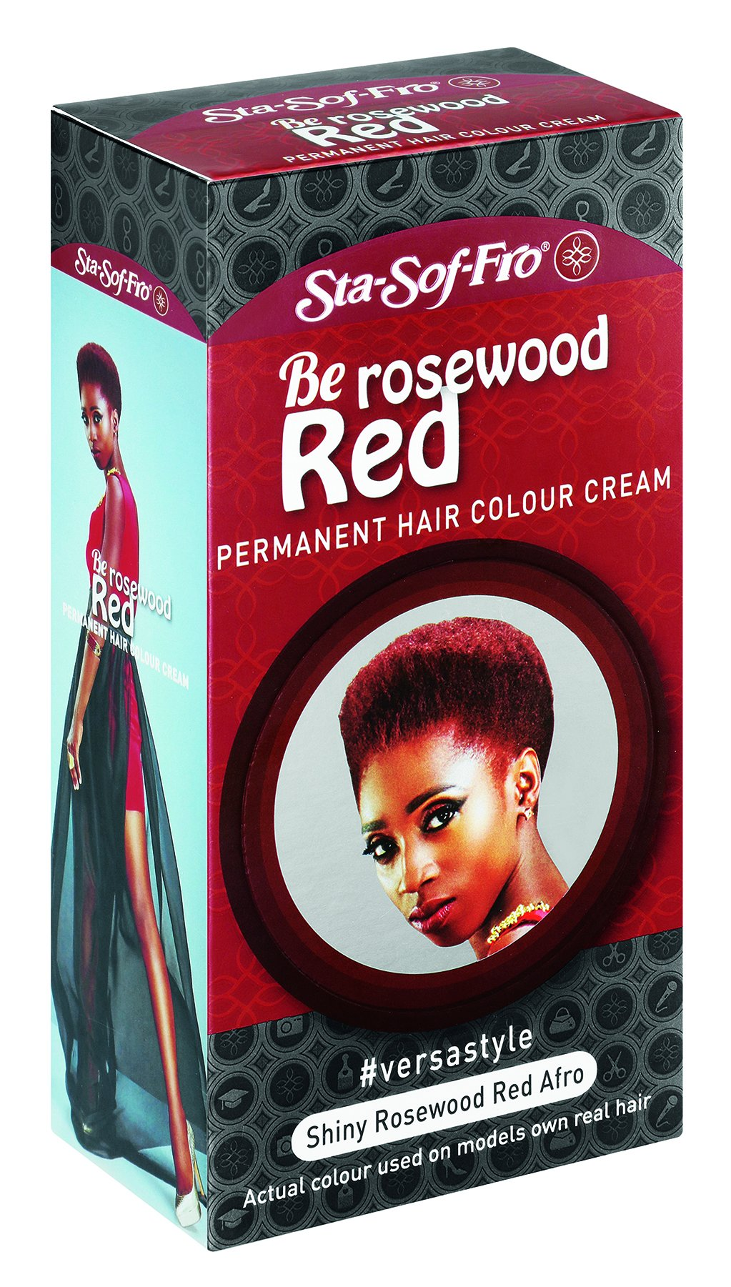 SSF BE Colours - Rosewood Red 110ml 12-Pack