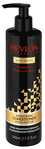 Revlon Realistic Blackseet strength conditioner 340ml 12-Pack
