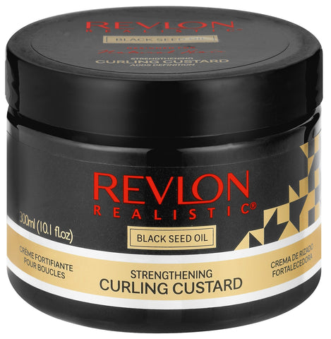 Revlon Realistic Blackseed curl custard 300ml 12-Pack