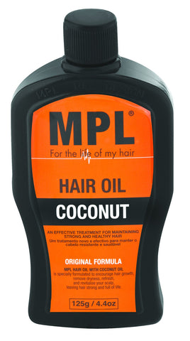 MPL Coconut Oil 125g 48-Pack