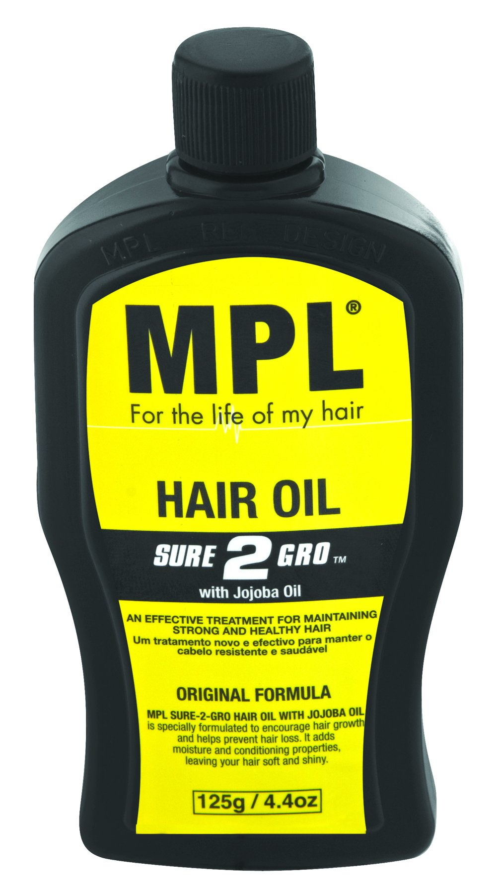 MPL Sure 2 Grow Oil 125g 48-Pack