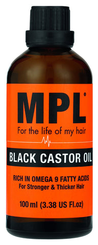 MPL Black Castor Oil 100ml 12-Pack