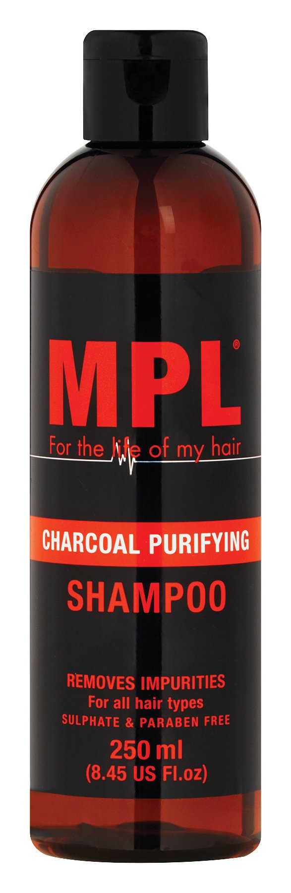 MPL Charcoal Shampoo 250ml 12-Pack