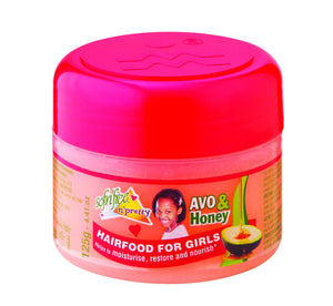 Sofnfree avo and honey pomade hairfood for girls 125g  12-Pack