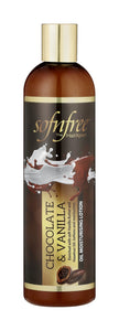 Sofnfree vanilla&choc oil moituriser lotion 350ml 12-Pack