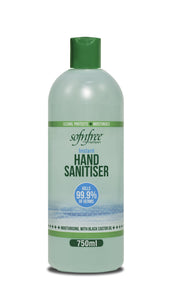 Sofnfree Black castor oil hand sanitiser 750ml  12-Pack