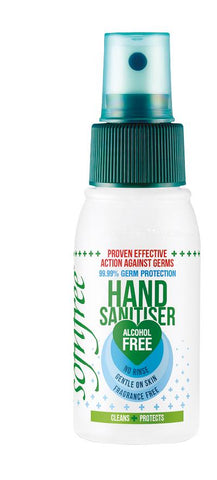 Sofnfree alcohol free hand sanitiser 55ml