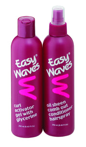 Easy Waves Gel N' Spray - Twinpack 250ml x 2 12-Pack