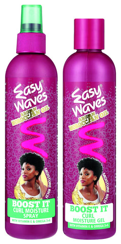 Easy Waves morroccan oil twin pack (30221 + 30222) 12-Pack