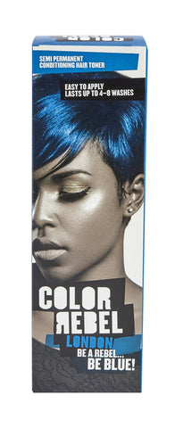 Color Rebel Semi-Perm cond hair toner blue 100ml 12-Pack