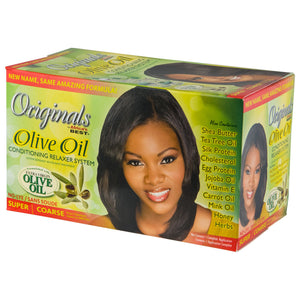 Originals Olive Oil Conditioning Relaxer System - Super 12-Pack