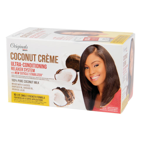 Originals Coconut Crème Ultra-Conditioning Relaxer System 4-Pack