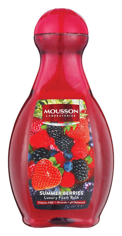Mousson Bubble Bath - Summer Berries - 2L 6-Pack