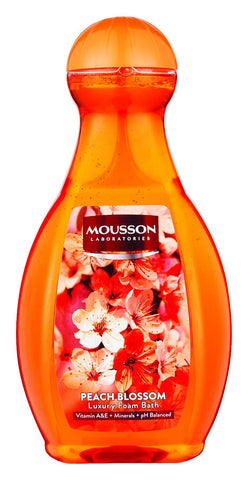 Mousson Bubble Bath - Peach Blossom - 2L 6-Pack