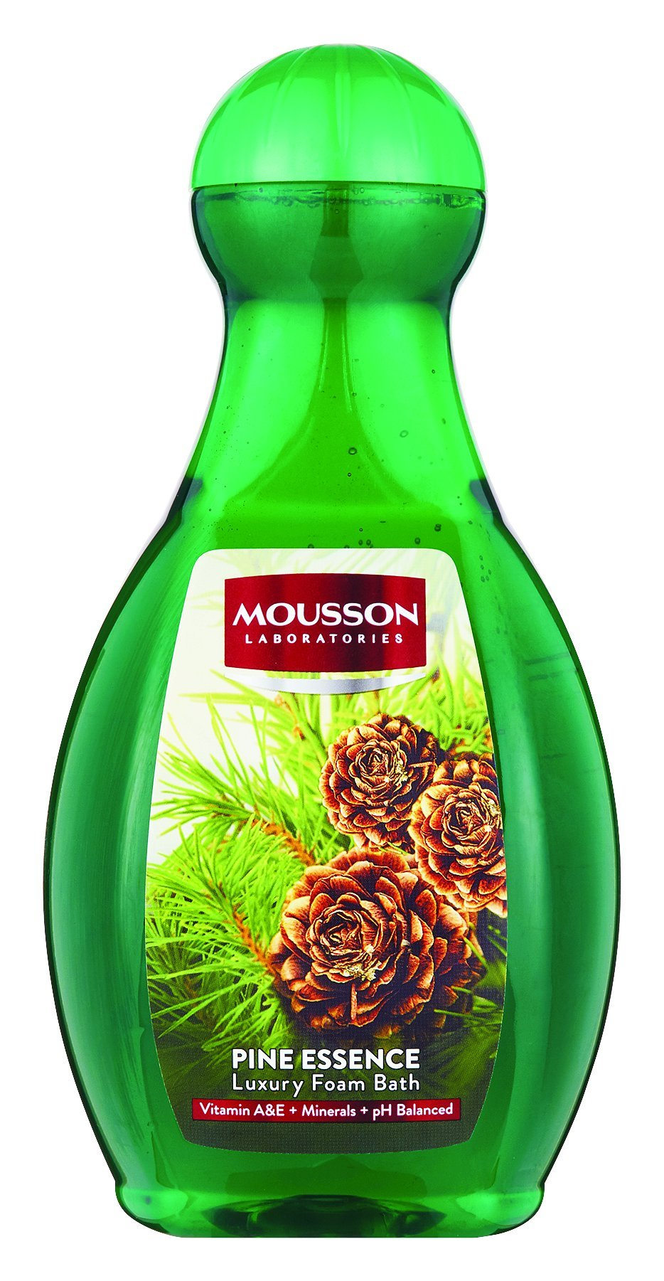 Mousson Bubble Bath - Pine Essence - 2L 6-Pack