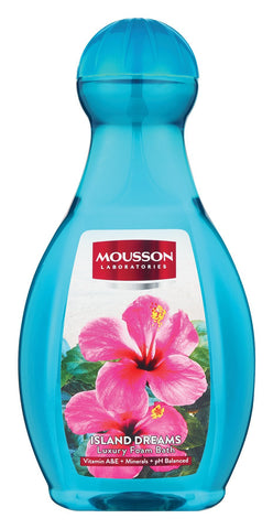 Mousson Bubble Bath - Island Dreams - 2L 6-Pack