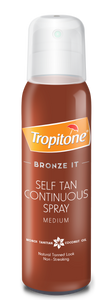 Tropitone Bronze It Selftan Continuous Spray Medium - 125ml 36-Pack