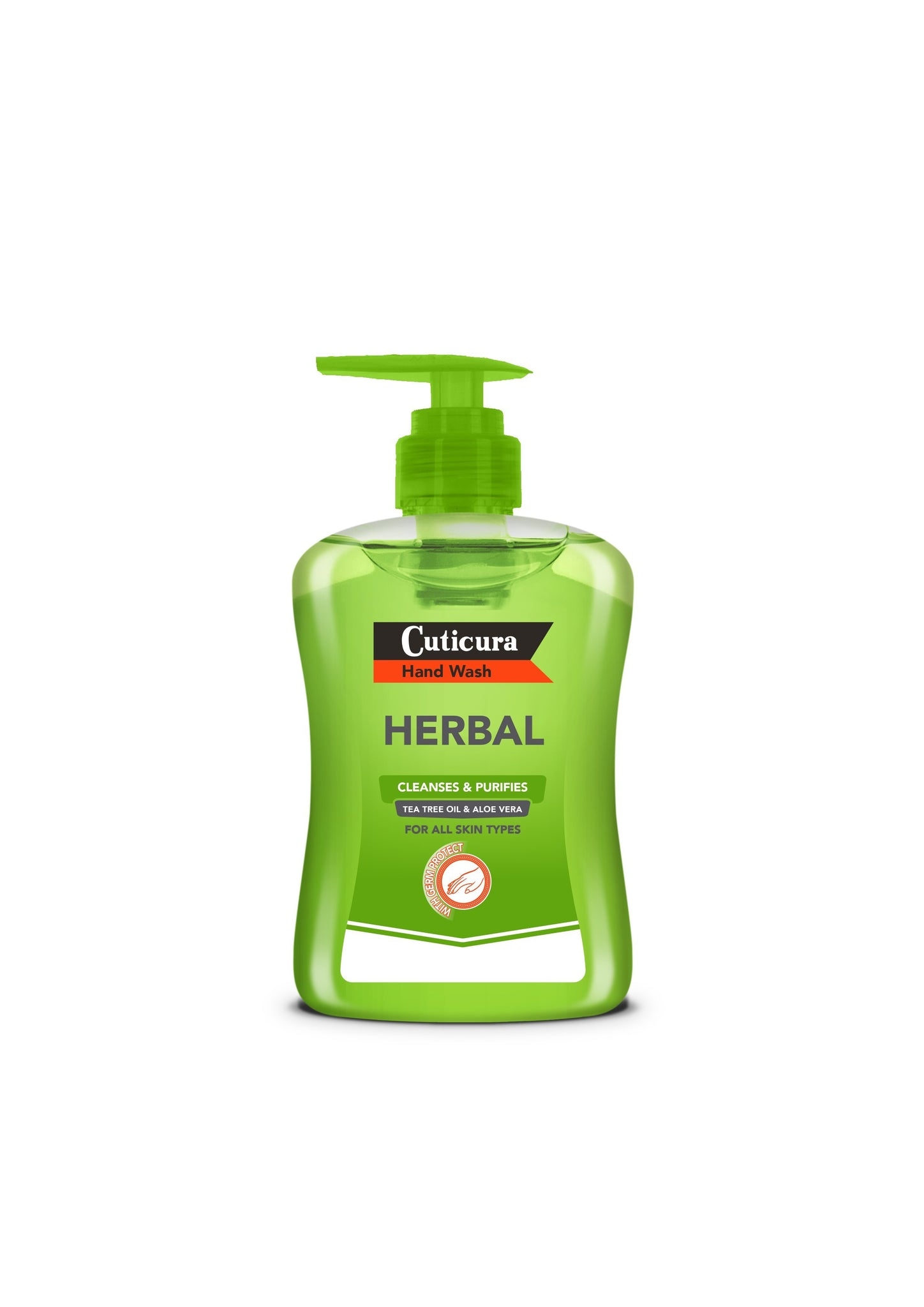 Cuticura - Herbal Hand Wash - 300ml 24-Pack